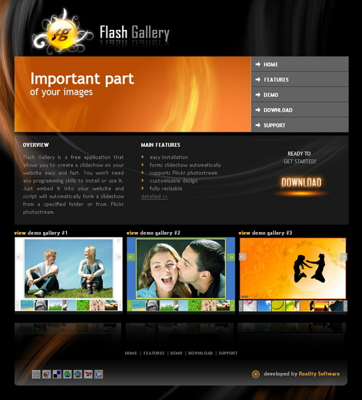 Flash Gallery